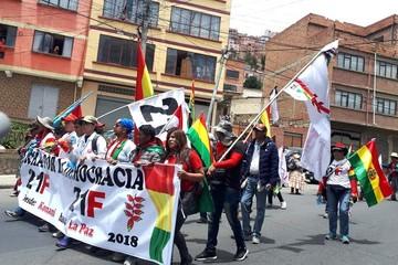 Santa Cruz: Cívicos y plataformas acuerdan unir sus movilizaciones para el 21 de febrero