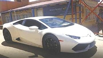 Abogado niega ser dueño del polémico Lamborghini