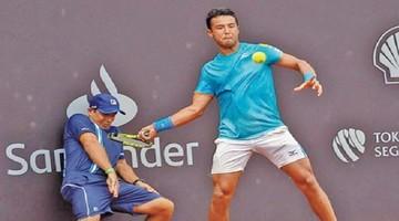 Hugo Dellien logra avanzar a segunda ronda del ATP 500