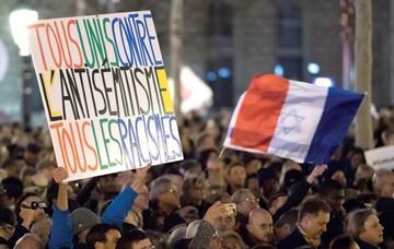 Profanan tumbas judías en Francia en acto antisemita