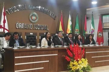 Tribunal Agroambiental resolvió el 55% de las causas recibidas en 2018