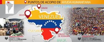 Tensión en la frontera de Venezuela