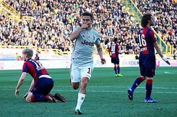 El argentino Dybala rescata a la Juventus