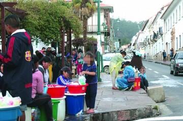 Gobierno prohíbe el derroche de agua durante el Carnaval