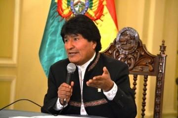 Evo saluda pronunciamiento del Grupo de Lima en contra de intervención a Venezuela