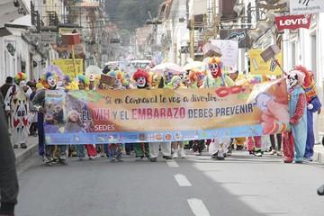 Ingenio y alegría sellan el Carnaval Preventivo