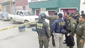 Oruro: Atracadores dejan un policía herido y huyen