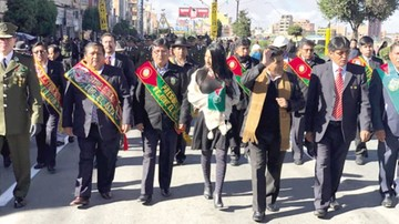 Evo, ausente por quinto año en los actos de El Alto
