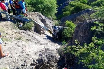 Accidente de tránsito en la ruta Potosí-Sucre deja dos personas fallecidas