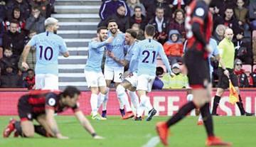 El Manchester City de Guardiola asume el liderato