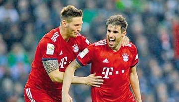 El Bayer Múnich alcanza en la cima al Dortmund
