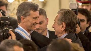 El presidente Morales saluda a Mauricio Macri por la muerte de su padre