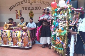 Tarabuco cierra los carnavales con  la XXI versión de la Gran Pukara 2019