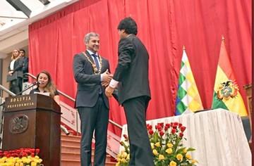 Acuerdan construir gasoducto a Paraguay