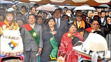 Evo felicitó a El Alto, pero no fue a los actos