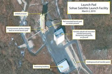 Pyongyang reconstruye base de misiles