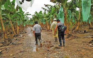 Las lluvias afectan a más de 25.700 familias en el país