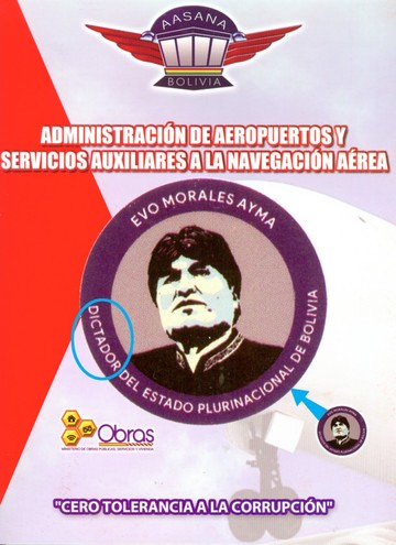 """Reemplazan """"presidente"""" por """"dictador"""" en carpetas"""
