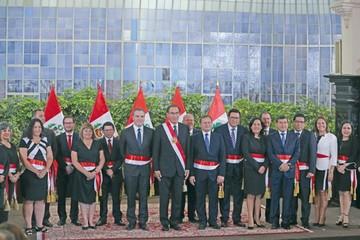 Perú, con nueve mujeres, tiene un gabinete paritario