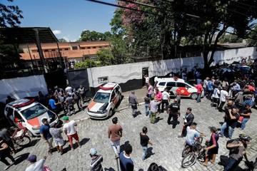 Al menos diez muertos en tiroteo en escuela de Sao Paulo