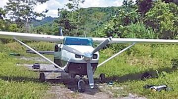 Presuntos ladrones roban avioneta a un piloto en Beni