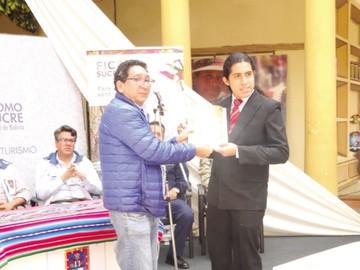Carnaval en Sucre cierra con la premiación de ganadores