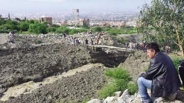 Tiquipaya: Alarma por nueva mazamorra
