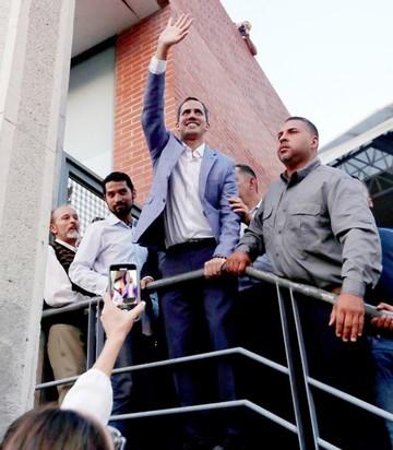 Guaidó emprende gira nacional en pos de sumar respaldo