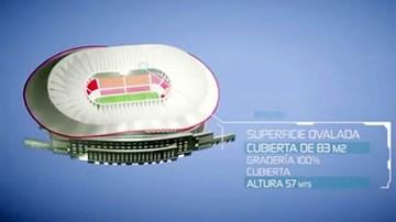 Evo ofrece un estadio para el Mundial de 2030
