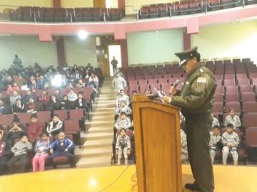 Gacip Chuquisaca da la bienvenida a 60 voluntarios