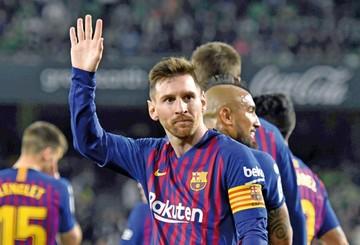 Messi da cátedra