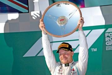 Bottas, primer líder de Mundial de Fórmula Uno