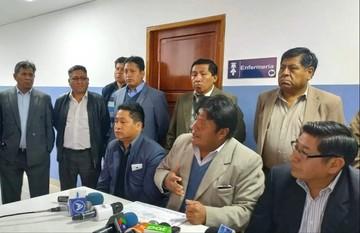Dirigente de choferes denuncia que afiliados sufren daño psicológico por tema de desfalco