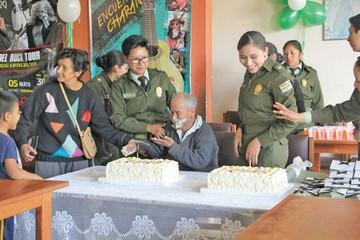 Anciano festejó 101 años en el hogar Guadalupe