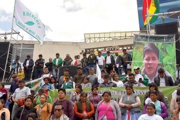 Yungas recolecta firmas para liberar a Gutiérrez