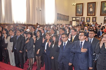 La Paz: Suspenden a vocal constitucional