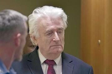 Elevan a cadena perpetua la condena para Karadzic