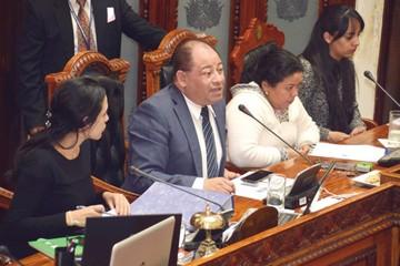 El MAS aprueba informe  de emboscada a Umopar