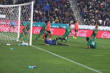 Bolivia cae por la mínima diferencia ante Corea del Sur
