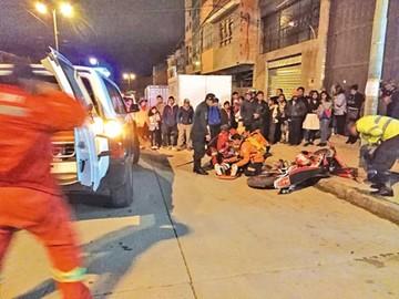 Choque frontal deja dos heridos pero no graves