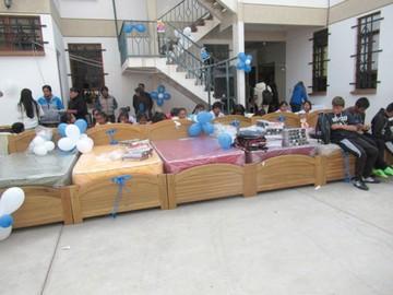 Centros de acogida y de reintegración reciben equipos
