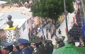 En Sucre también se conmemoró la Defensa de Calama con espíritu de reivindicación marítima