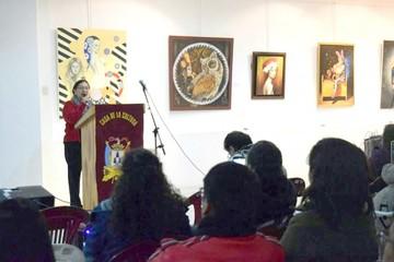 Sanz expone en Perú con artistas plásticas mujeres