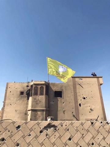 Borran del mapa el territorio del  Estado Islámico