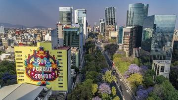 Murales con pintura ecológica ya lucen en Ciudad de México