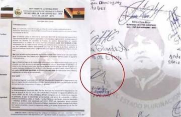 """Culpan a subgobernador del MAS por el sello de """"Evo dictador"""""""