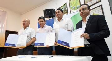 Gobierno y productores firman convenio para la producción de etanol anhidro del sorgo