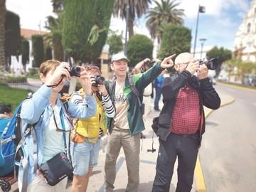 Sucre deslumbra a fotógrafos checos