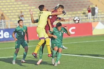 Sub 17: Bolivia cae otra vez