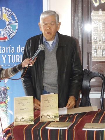 Canedo rescata en libro a la familia de Juana Azurduy